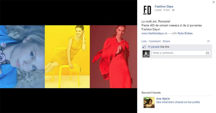 1 decembrie 2014 - fashiondays