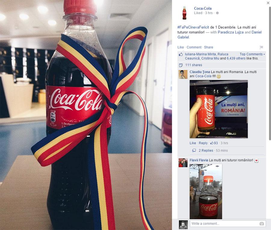 1 decembrie - coca-cola