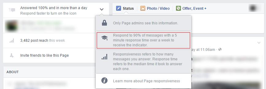page responsiveness