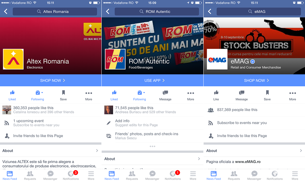 fb new mobile layout